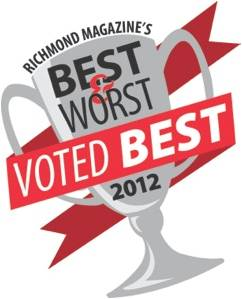 Lexus of Richmond voted Best Car Dealer in 2012!