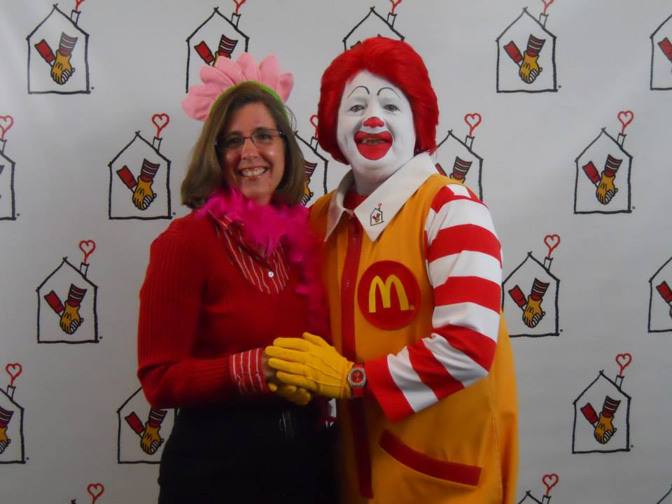 Lenore P and Ronald McDonald